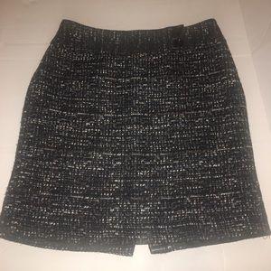 Ann Taylor Tweed Mini Skirt Sz. 8